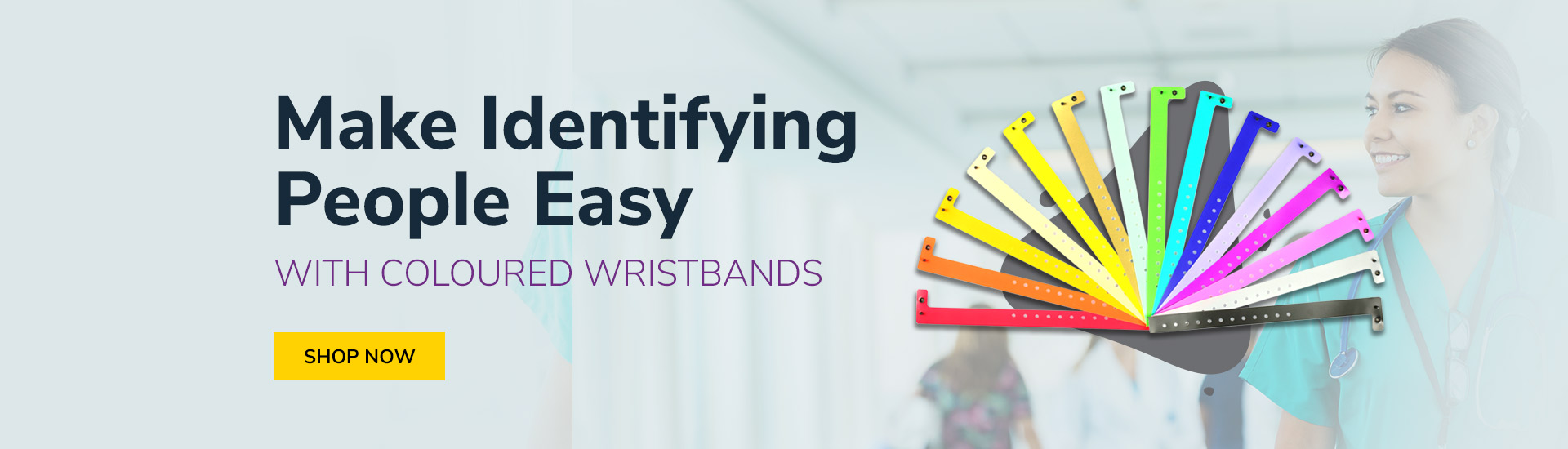 Identify with Wristbands - ID Warehouse